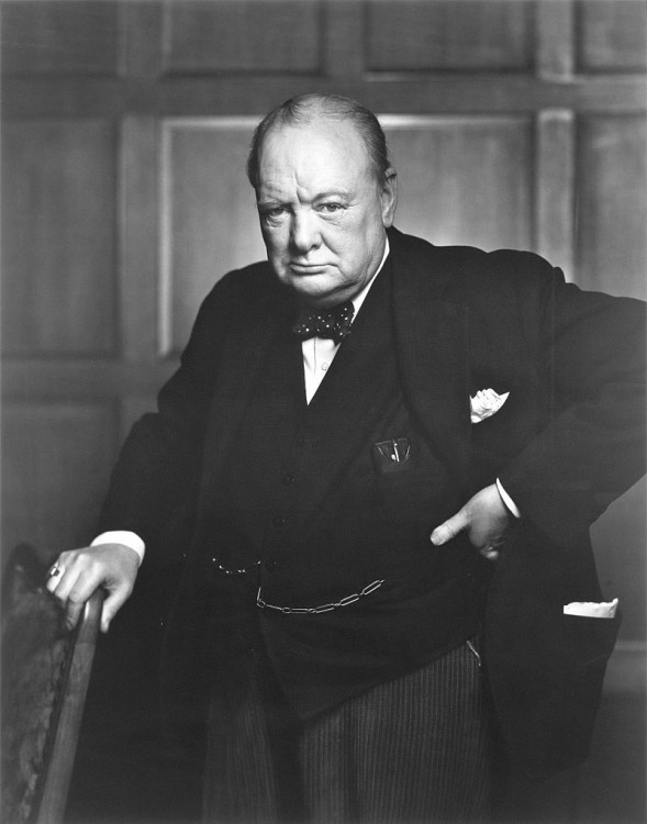 Sir Winston Churchill Creator(s) / Créateur(s) : Yousuf Karsh Date(s) : December 30, 1941
